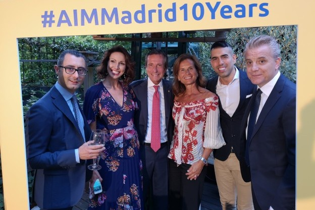 10 years Madrid Office - Management - AIM Group International