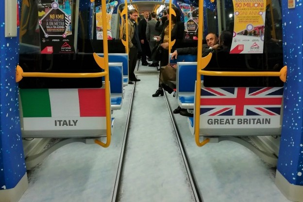 personalised metro trains
