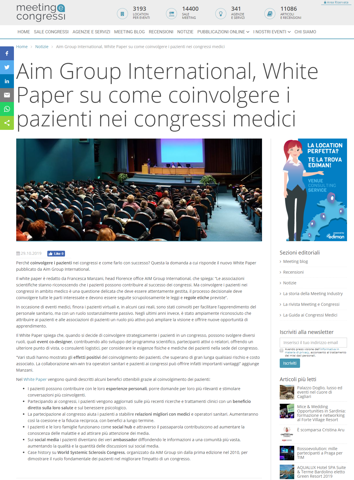 Press Review Aim Group
